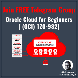 oracle cloud for beginners