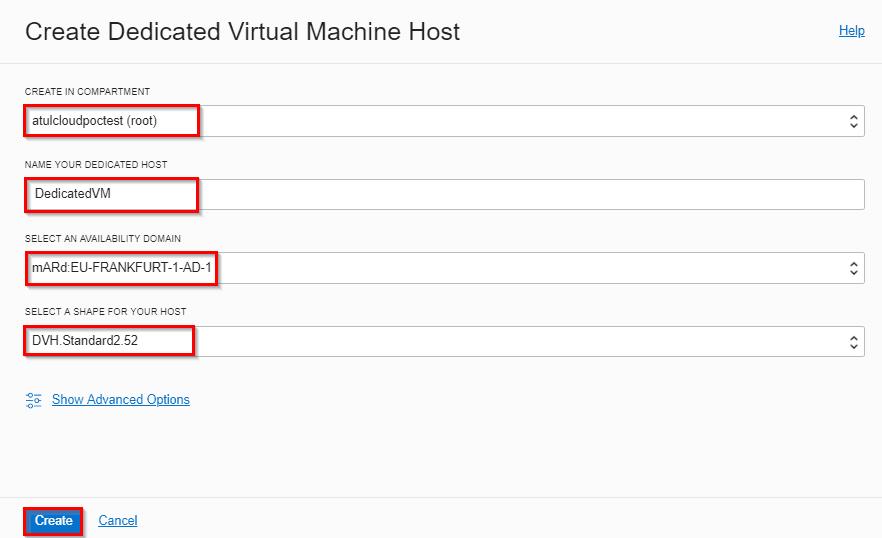 Create Dedicated Virtual Machine Hosts