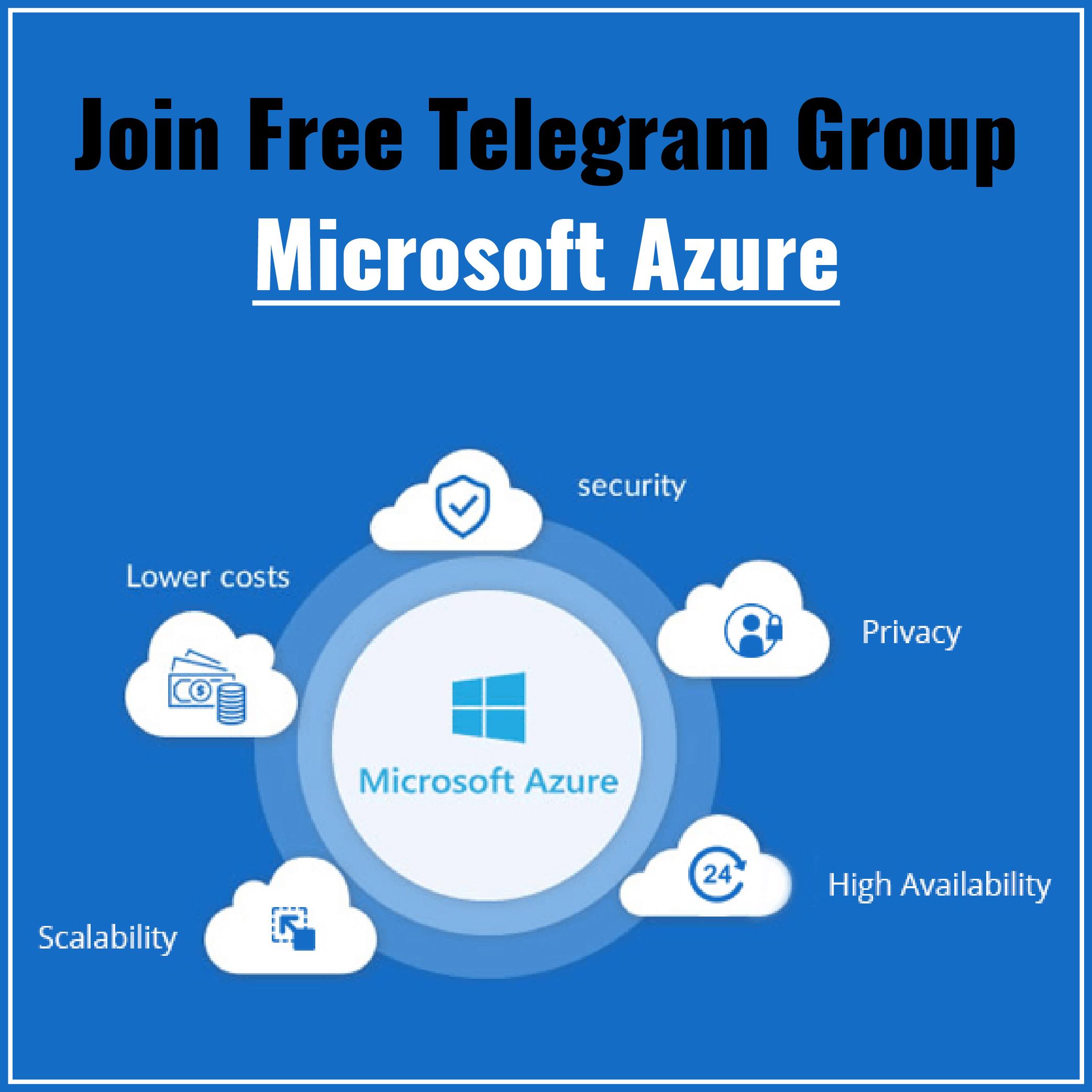 Azure Telegram Group