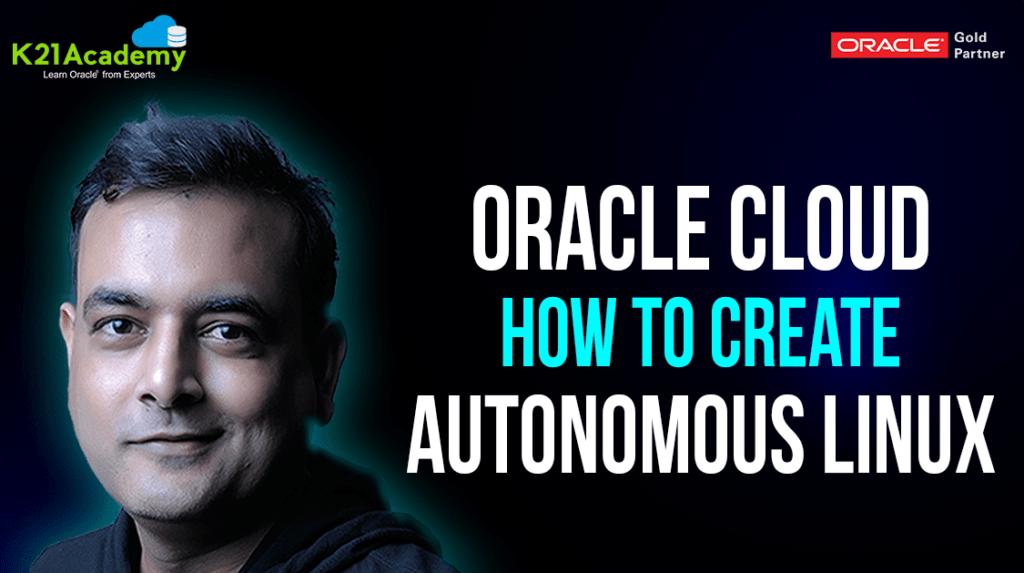 Oracle Autonomous Linux