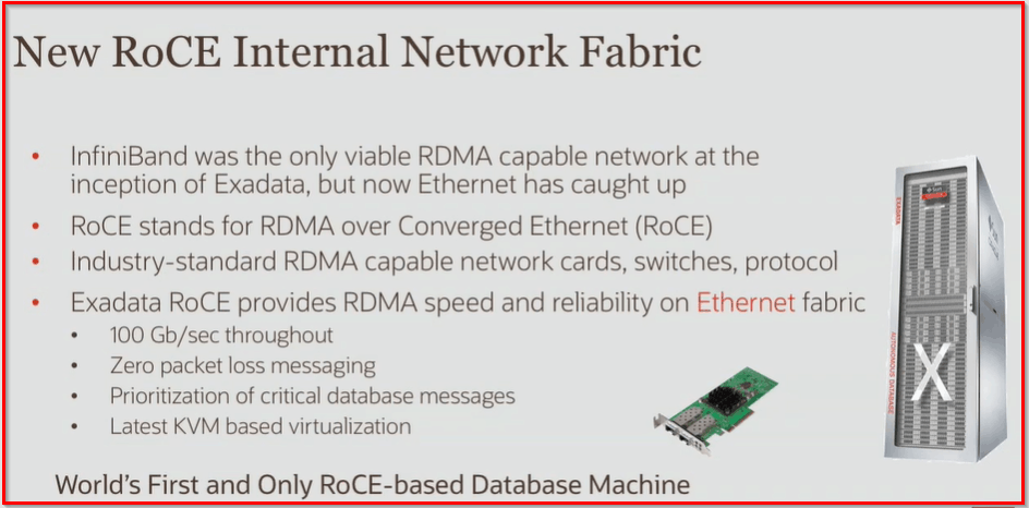 New Exadata X8M PMEM and RoCE capabilities and benefits #oow19