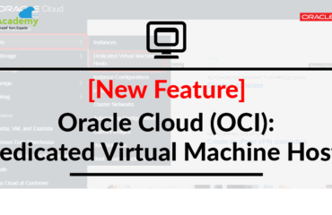 [New Feature] Oracle Cloud (OCI): Dedicated Virtual Machine Hosts