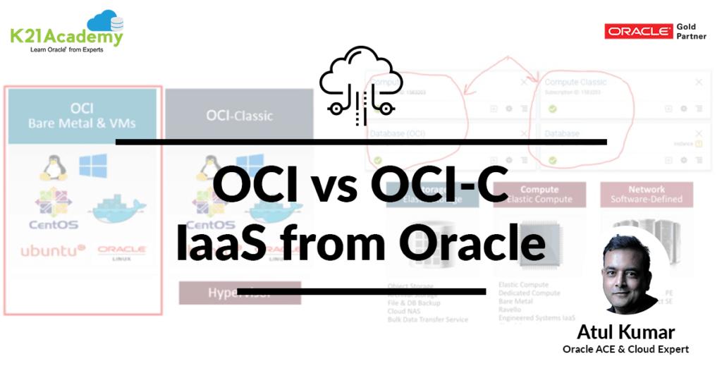 OCI vs OCI-C