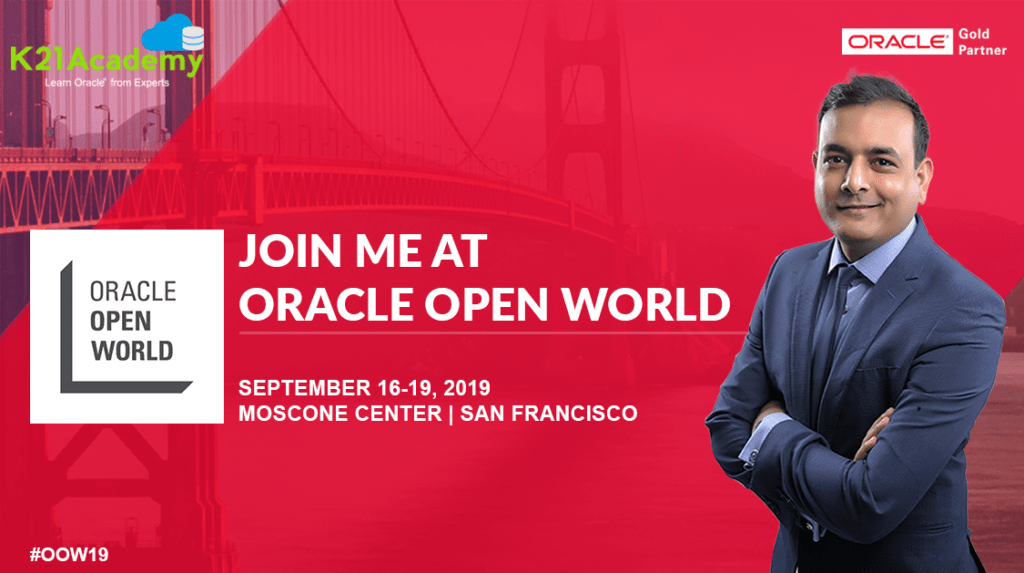 Oracle Open World #OOW19