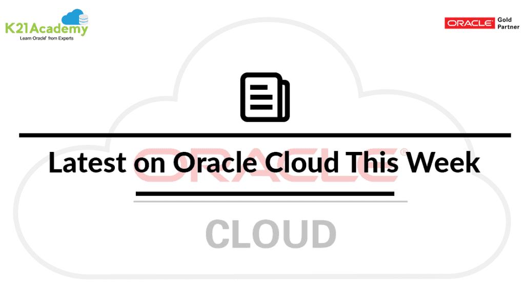 Cloud latest Update