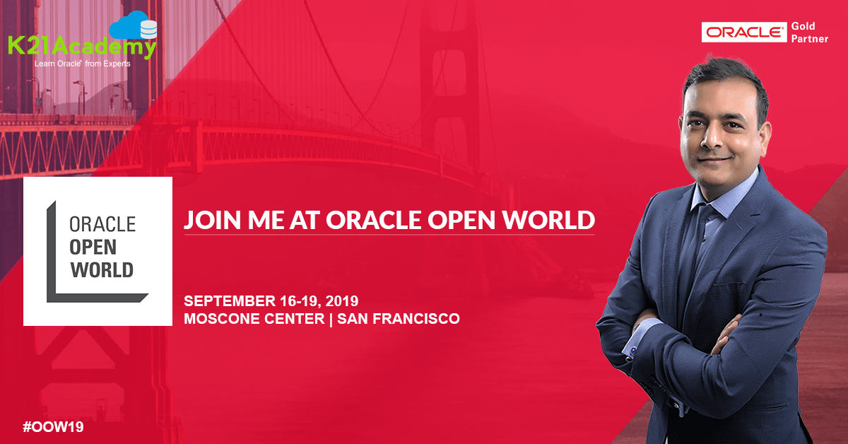 Oracle Open World (OOW) 2019