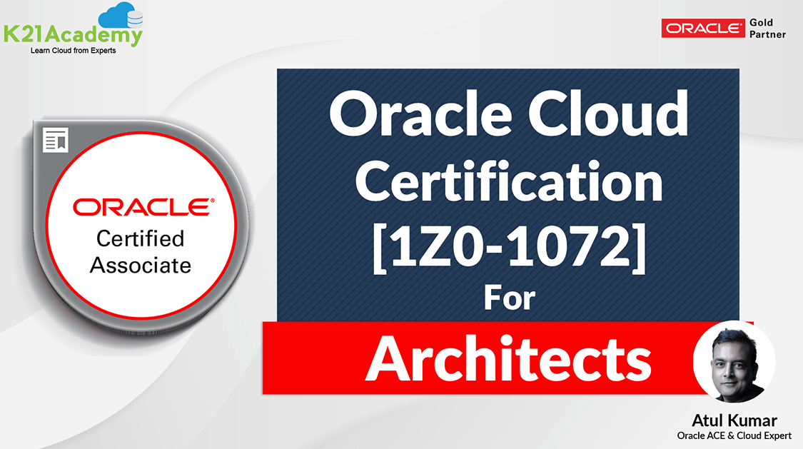 1Z0-1072-20 | Oracle Cloud Infrastructure 2020 Architect Associate