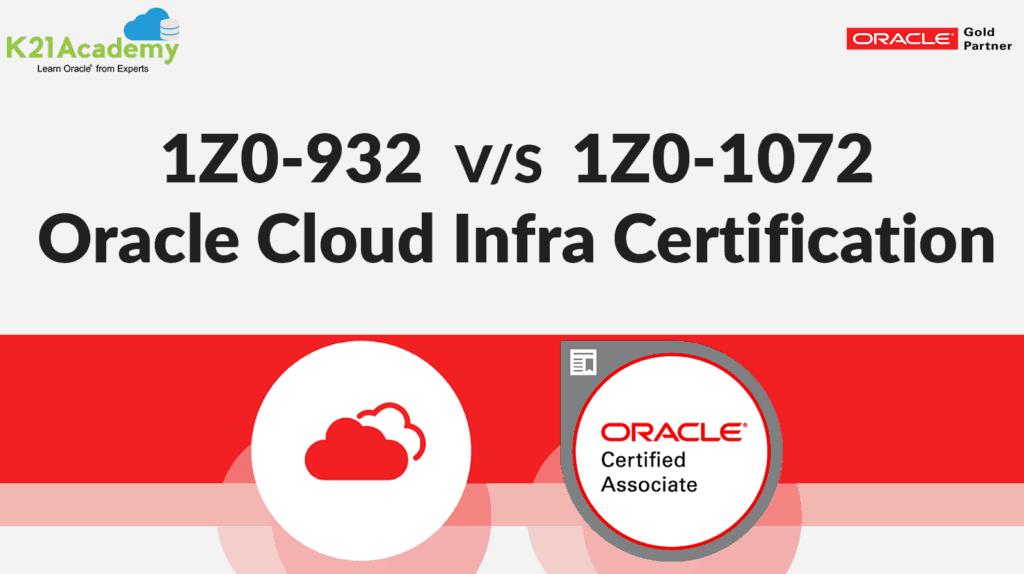 1Z0-1072 Certification
