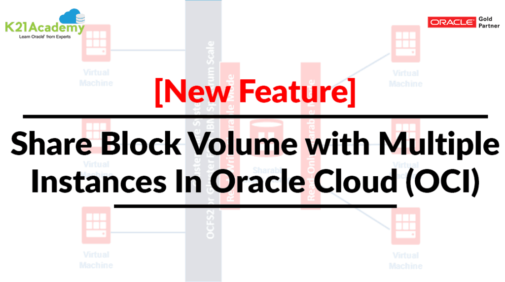 Shared Block Volume with multiple instances
