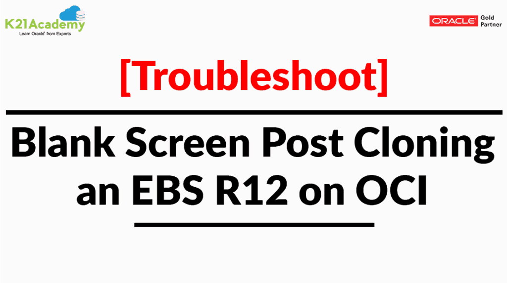 Troubleshooting Blank Screen