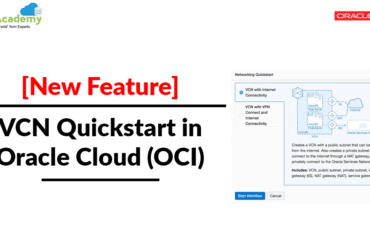 [New Feature] Virtual Networking (VCN) Quickstart In Oracle Cloud (OCI)