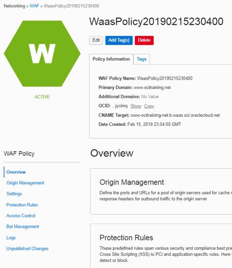 Web application firewall(WAF)