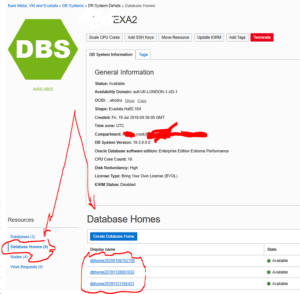 Oracle Database Home