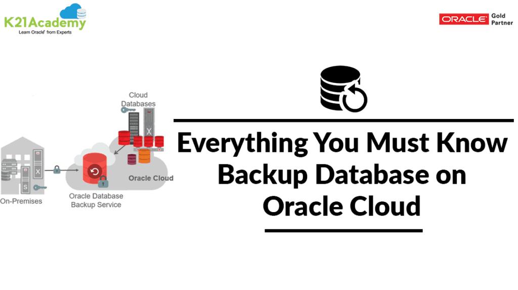 Oracle Cloud Backup
