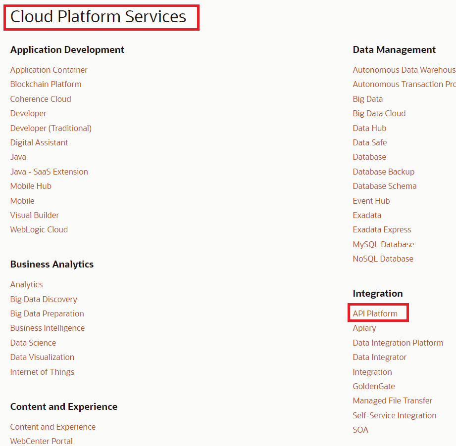 cloud platform services