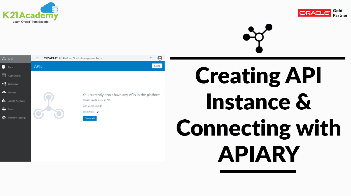 Oracle API Platform Cloud Service: Instance Creation & Connecting With APIARY (Step by Step)