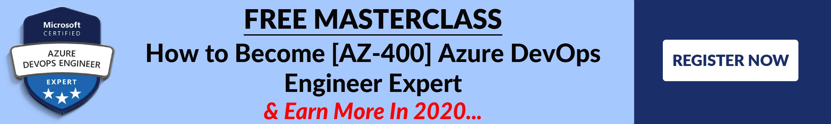Free Masterclass AZ-400
