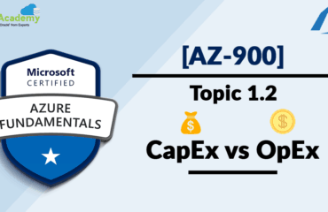 [AZ-900] Microsoft Azure Fundamentals: Cloud Computing - CapEx vs OpEx Model