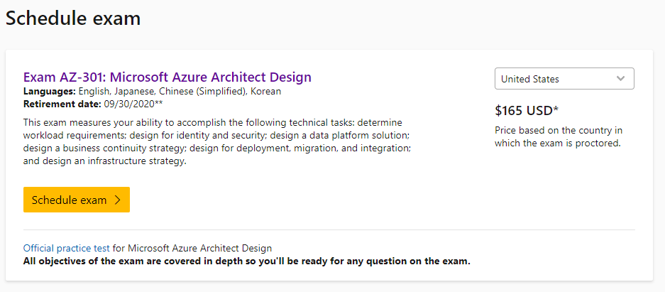 Azure Architect Official image