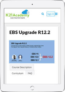 EBS Upgrade Tablet