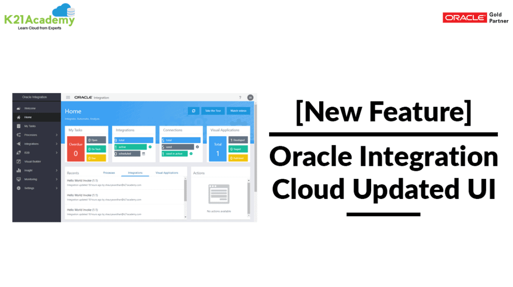 Oracle Integration Cloud OIC