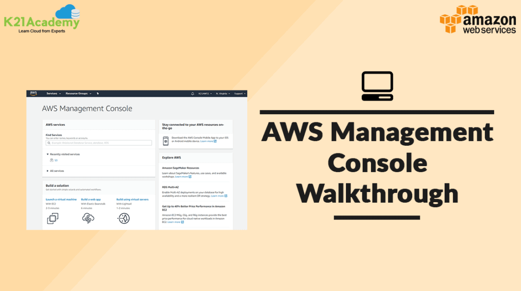 AWS Console Walkthrough